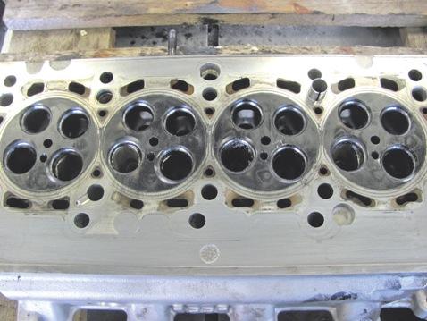 Dauertest Audi A6 Avant - Zylinderkopf, Ventilsitze