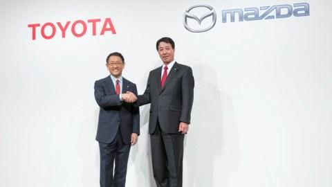 Mazda+Toyota