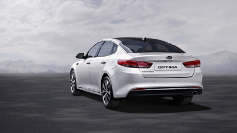 New Kia Optima - exterior #1