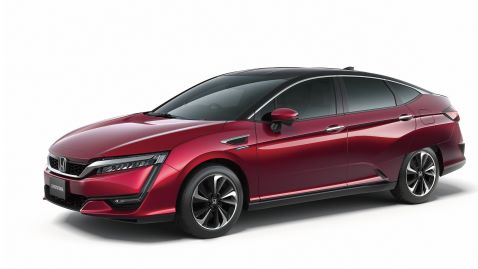 Global debut of Honda?s all new FCV vehicle