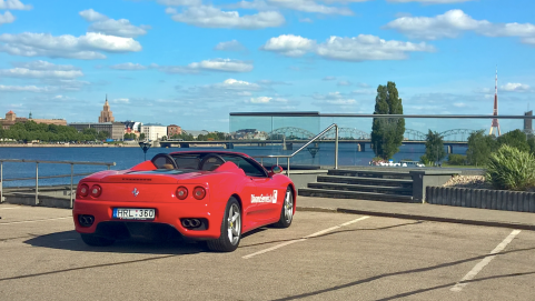 Ferrari greiti vasara galejo isbandyti ir latviai