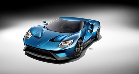 All-New Ford GT R-L, 3/4 Front, January 2015
