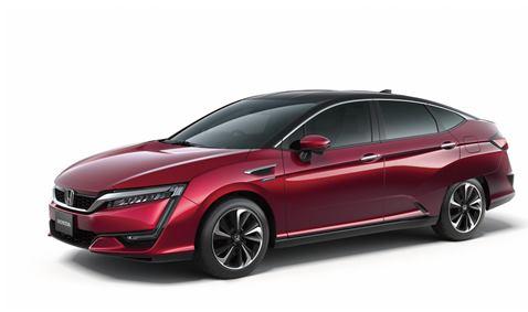 Global debut of Honda?s all new FCV vehicle