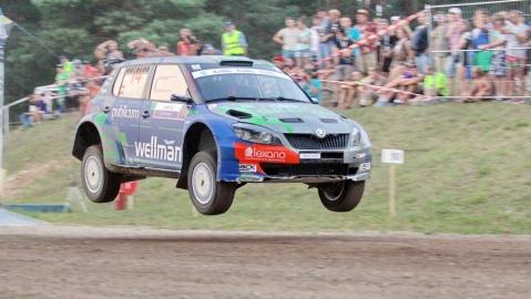 300 Lakes Rally sala jump Samuitis s2000