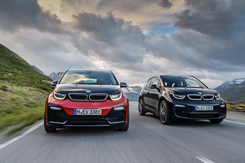 BMW i3 and the new BMW i3s