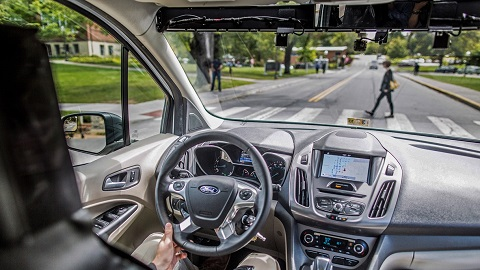 Ford and Virginia Tech Transportation Institute Self-driving Vehicle Testing