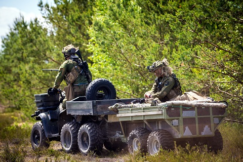 2. bataljon på øvelse Saber Strike 2015 i Latvia. / Norwegian Army 2nd Battalion on exercise Saber Strike 2015 in Latvia.
