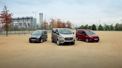 Stylish New Family of Ford Tourneo People Movers Makes Public Debut at Brussels Motor Show