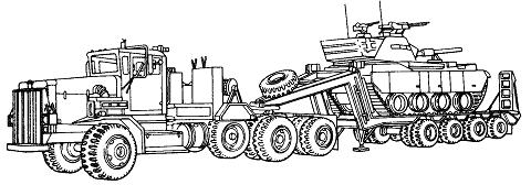 """Sunkusis transporteris M911, pakeitęs """"Oshkosh"""" istoriją ir nulėmęs jos tolesnio vystymosi kryptį."""