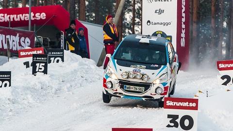 Arctic Energy WRT komanda Švedijos ralyje_nuotr. Aistės Kirsnytės