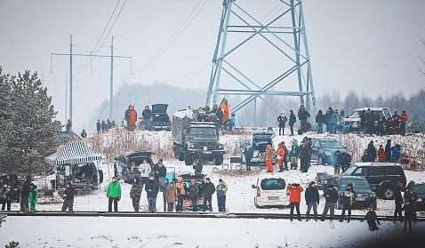 Winter Rally stebėjimas Foto Edgaras Buiko