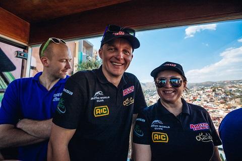Deividas Jocius (viduryje)_Meksikos ralis_WRC_nuotr. Aistė Kirsnytė
