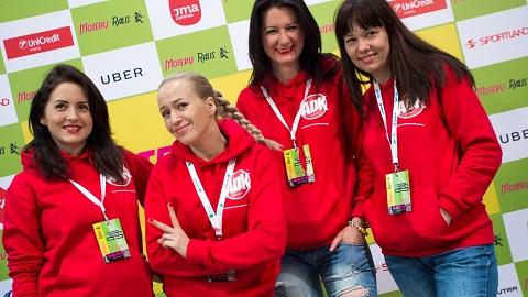 Elena Puidokaite su kolegemis