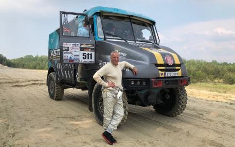 Aurelijus Petraitis su Tatra sunkvežimiu (1)