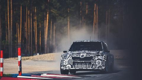 ESmotorsport - BRGroup testai_ Skoda Fabia testų metu