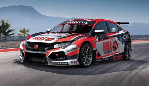 FIA WTCR livery reveal - KCMG