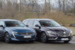 Dviejų prancūzų dvikova: Peugeot 508 SW ir Renault Talisman