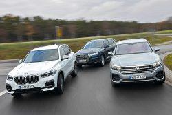 Audi-Q7-BMW-X5-VW-Touareg