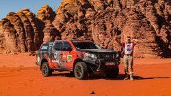 Sugrįžo Dakaro technika