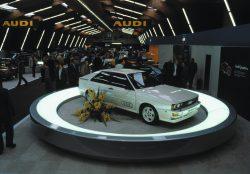 Pirmosios Audi quattro pristatymas