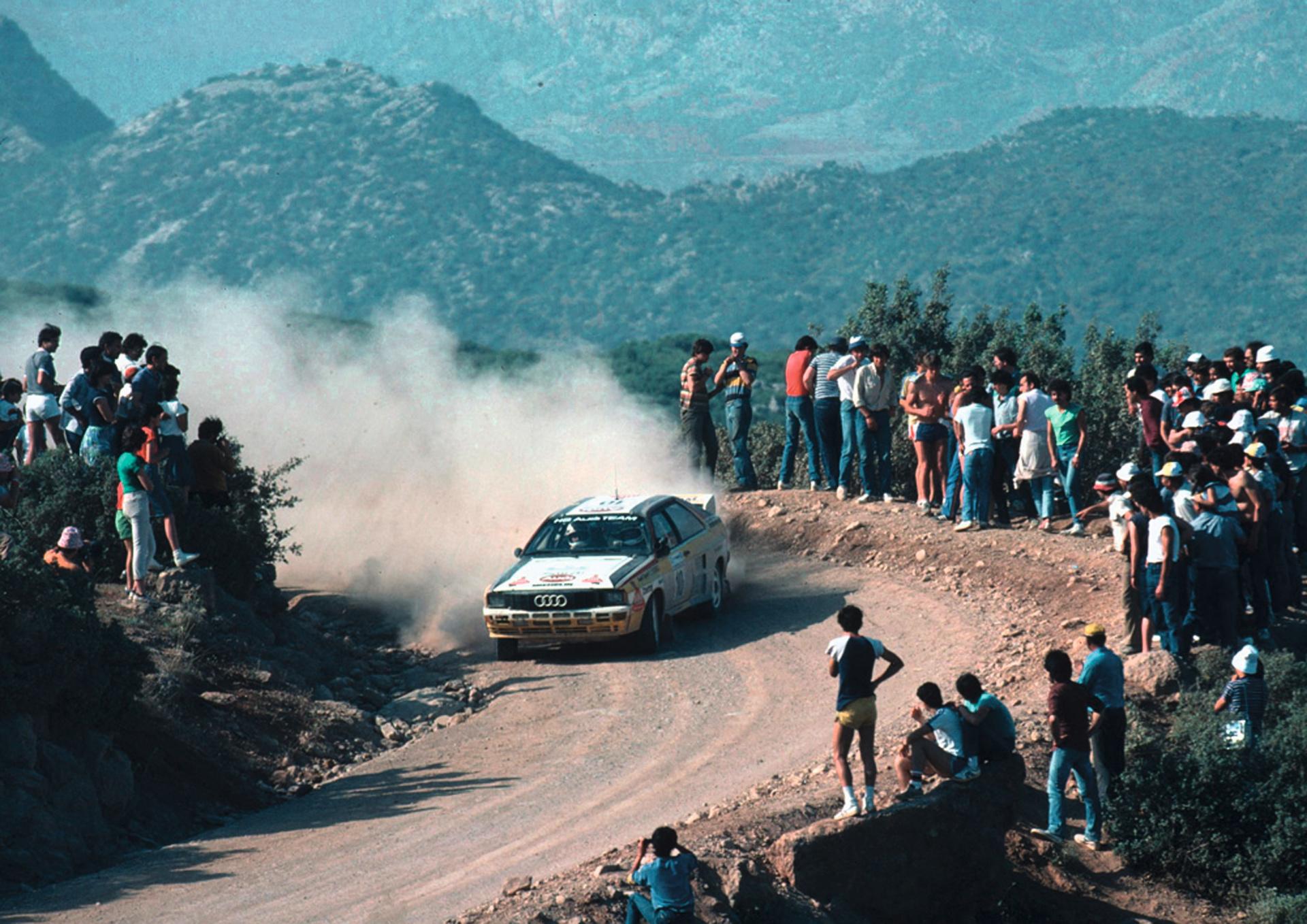 Audi quattro 40 metų