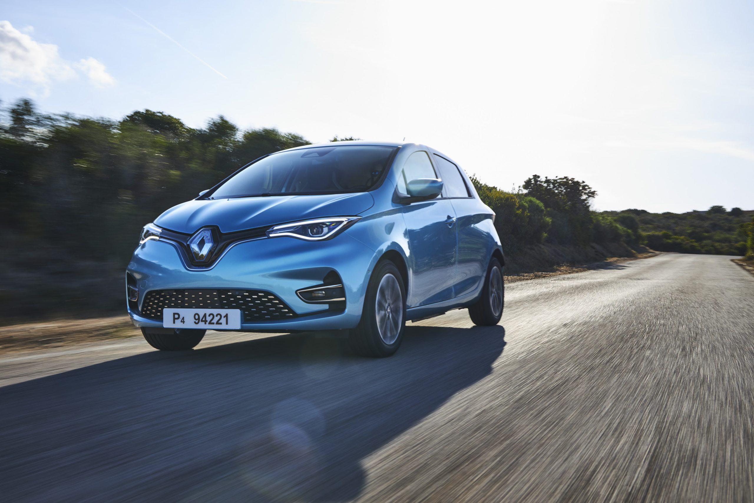 dinaminis Renault elektromobilio krovimas