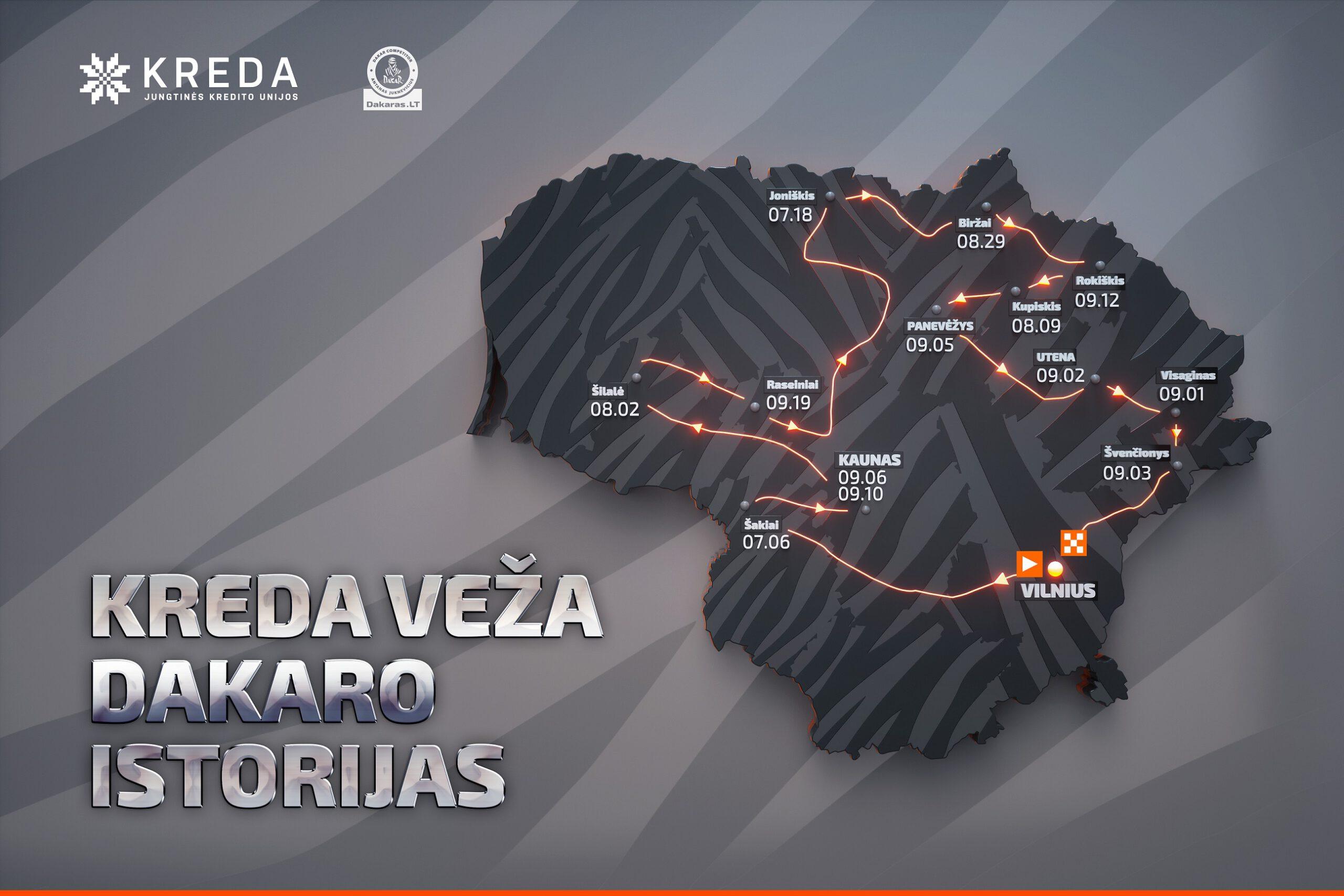 Antanas Juknevičius vasarą gerbėjams žada dalelę Dakaro